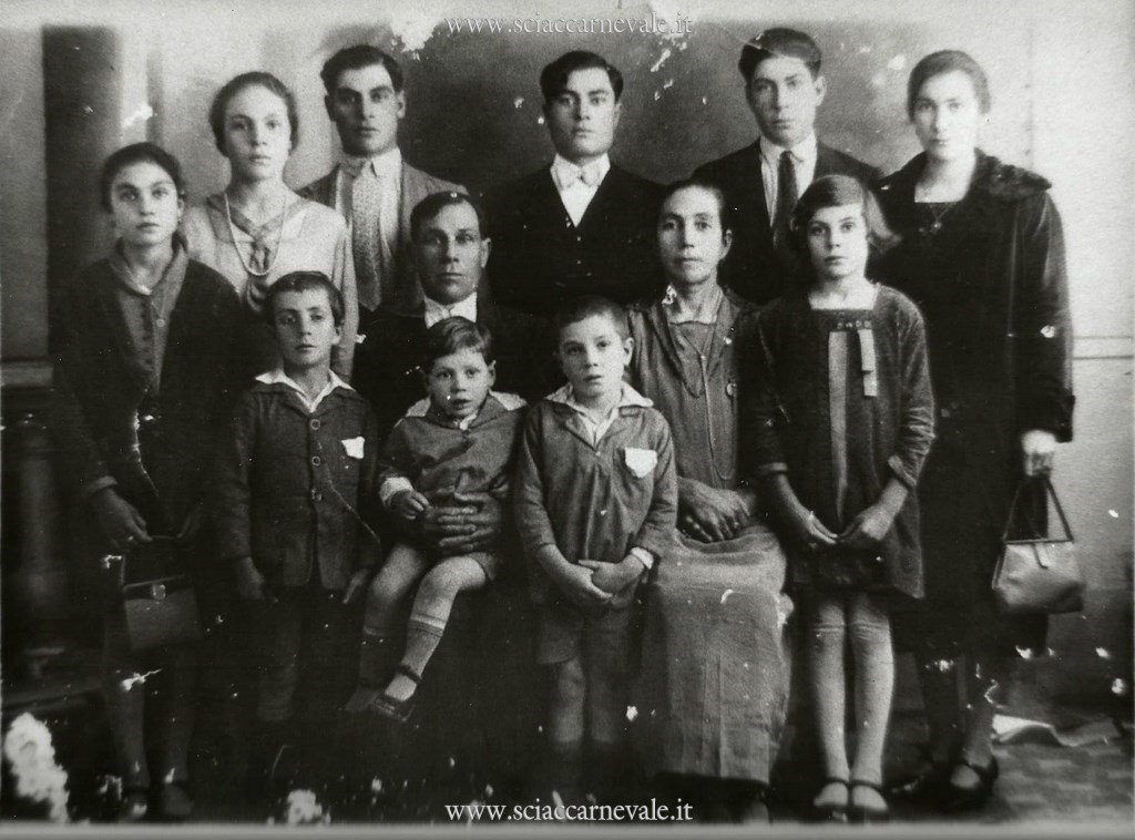 La famiglia di Onofrio Tulone